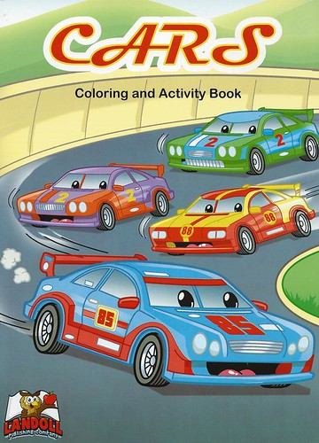 "Landoll Publishing Company :: ""CARS"" Coloring & Activity Book (( 2013 ))"