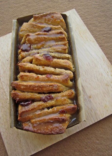 Orange Marmalade Cranberry Pull-apart Loaf
