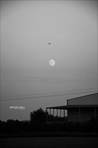 Lluna en el terme by ADRIANGV2009