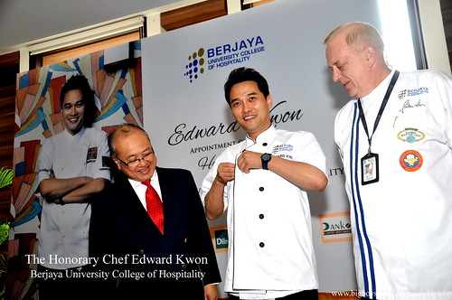 The Honorary Chef Edward Kwon of Berjaya University College of Hospitality 5