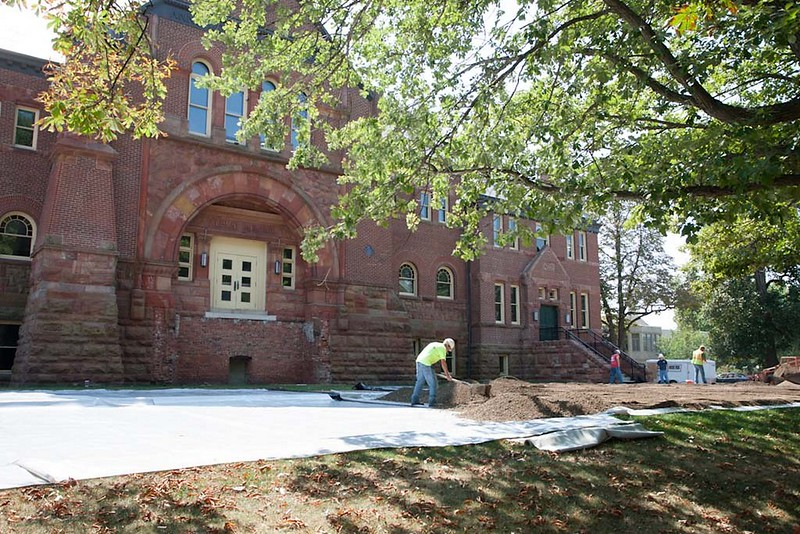 Alumni Hall Renovation 2013