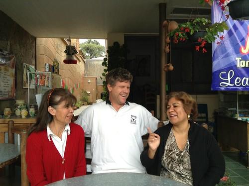 Gladis, Ron y Martha, Becari Tonatzin @ Oaxaca 09.2013