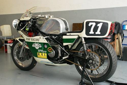 Gérard Auger & Marc Lejeune (Triumph Trident Rob North, 1971_Piaf Racing Team_BOC)