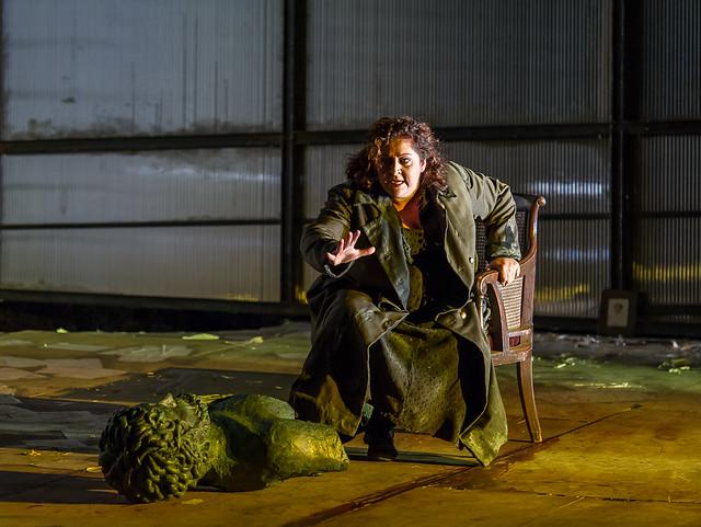 Christine Goerke as Elektra in Elektra © ROH / Clive Barda 2013