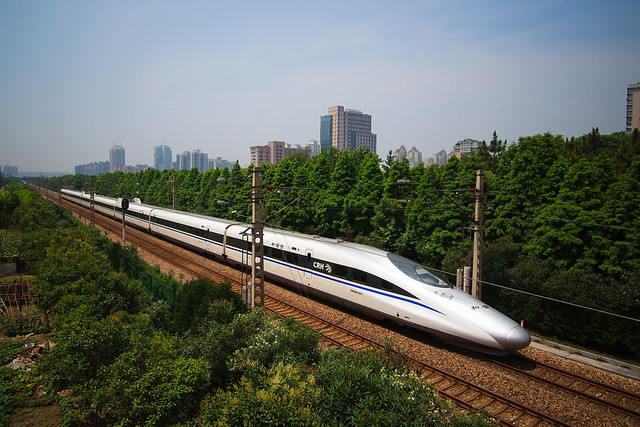 High speed trains 2x the passengers of planes in China