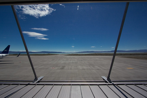 Vistas desde el Aeropuerto de El Calafate