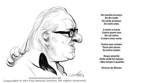 caricatura-Vinicius-de-Moraes by caricaturas
