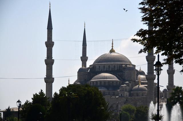 Mezquita Azul desde Santa Sophia