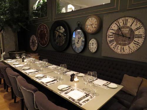 Nimb Brasserie - Mesa de jantar