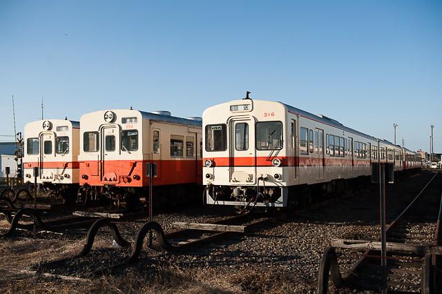 関東鉄道常総線 水海道車両基地