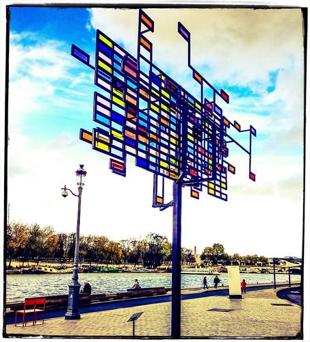 Shine On Seine by Paris Set Me Free