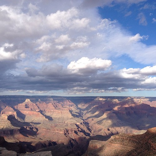 Grand Canyon in the afternoon