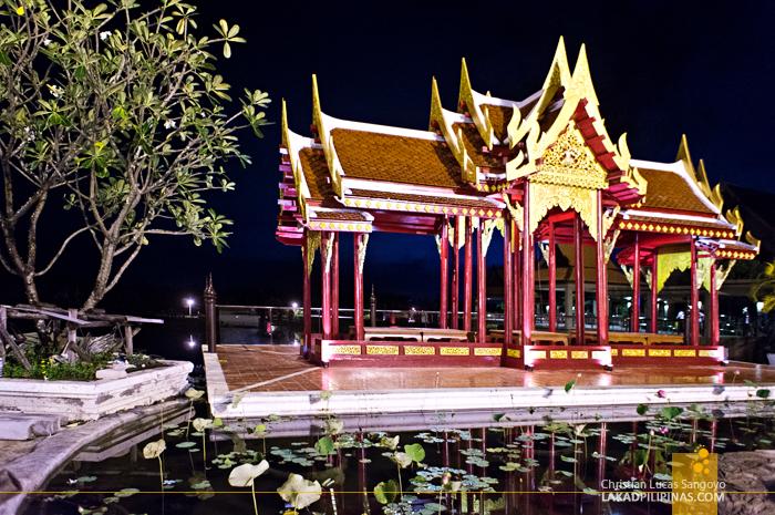 Beautiful Thai Architecture at Phuket's Siam Niramit Show