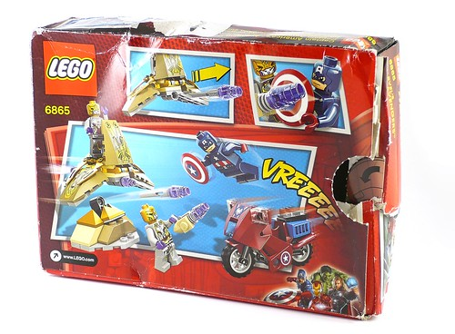 LEGO Marvel Super Heroes 6865 Captain America's Avenging Cycle 02
