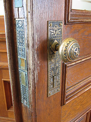 intricate doorknobs
