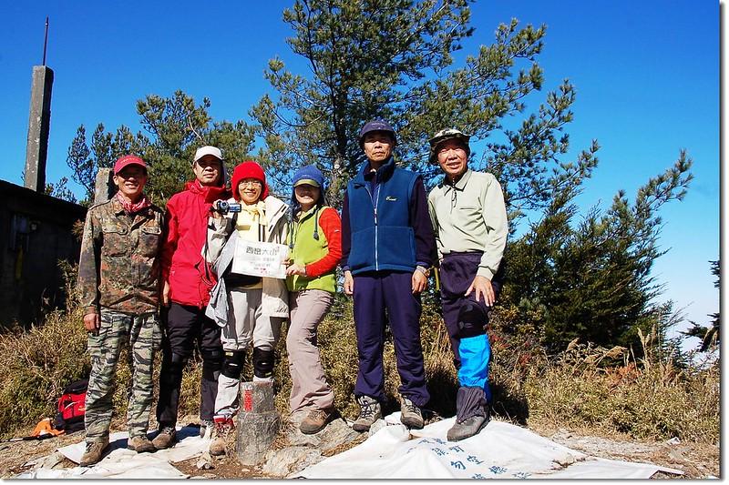 西巒大山山頂 2