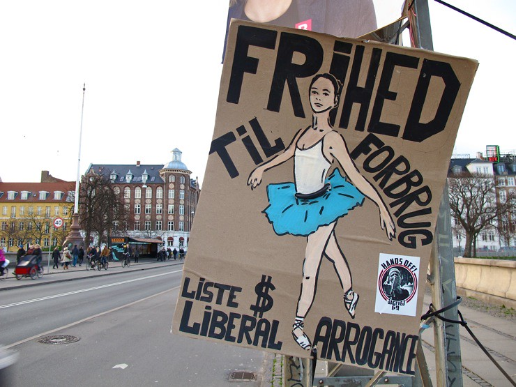Frihed til forbrug / Freedom to consume