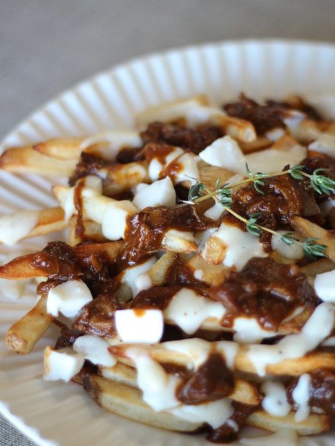 Salt House Poutine, at home (Gluten-free)