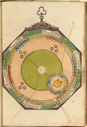 003-Astronomicum Caesareum-1540- Petrus Apianus -Staatsblibliothek Bamberg