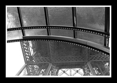 Rain on Eiffel Tower