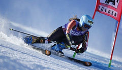 Gagnon glides to a 10th place finish in Solden, AUT.