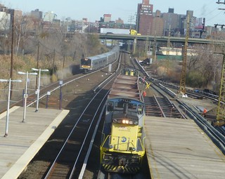 LIRR MoW train at Willets Point