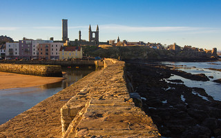 St Andrews from the harbour