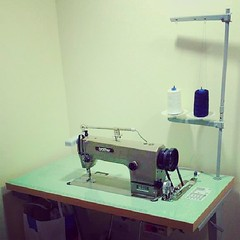 sewing(1.0), sewing machine(1.0), art(1.0), room(1.0),