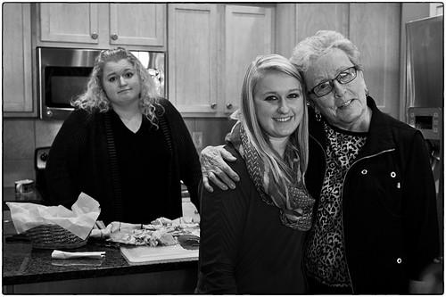 Grandma And Her Granddaughters, November 29, 2013