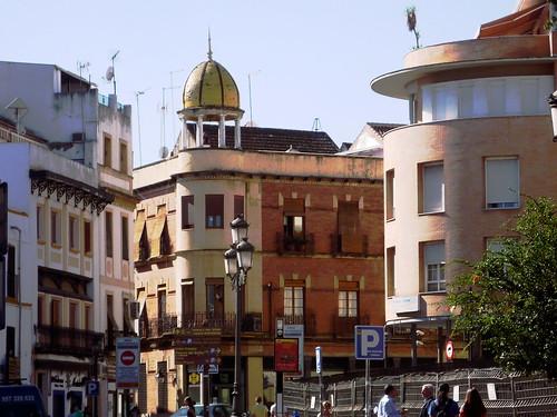 Calle Capitulares in Cordoba, dort geht es treppab zur Taberna Salinas