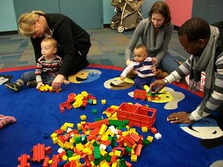 Read! Build! Play! @ Harrington Library