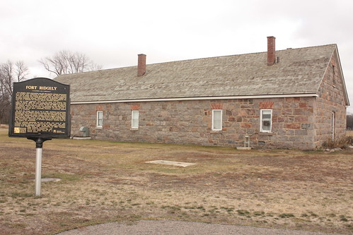 Fort Ridgely's remaining building