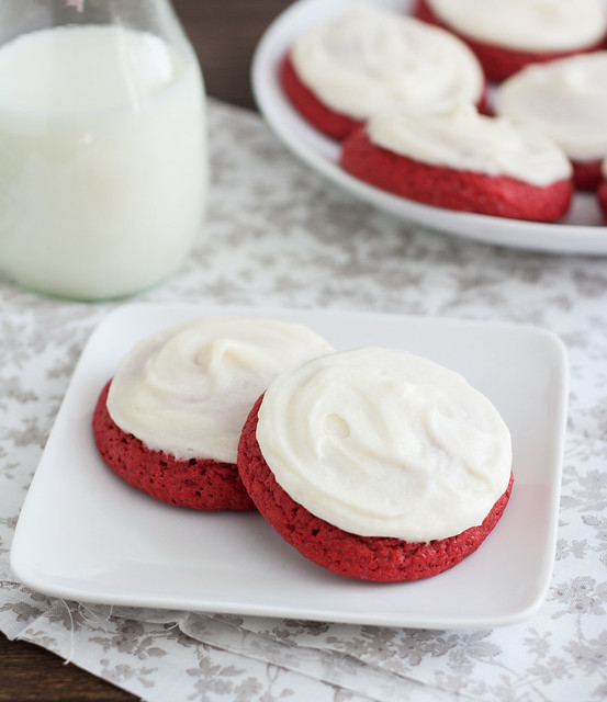 Red Velvet Cookies America S Test Kitchen
