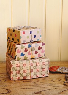 craft paper gift box