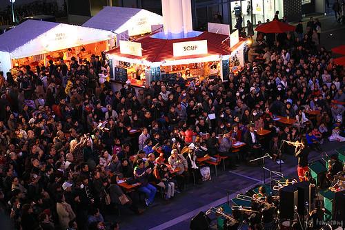 JR HAKATA CITY Chiristmas Market 2013