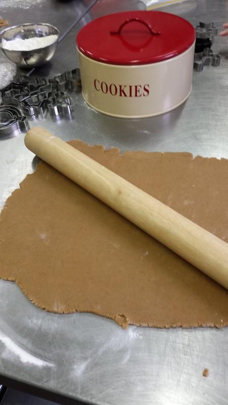 Gingerbread dough