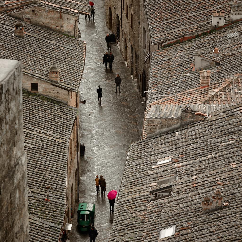 San Gimignano street