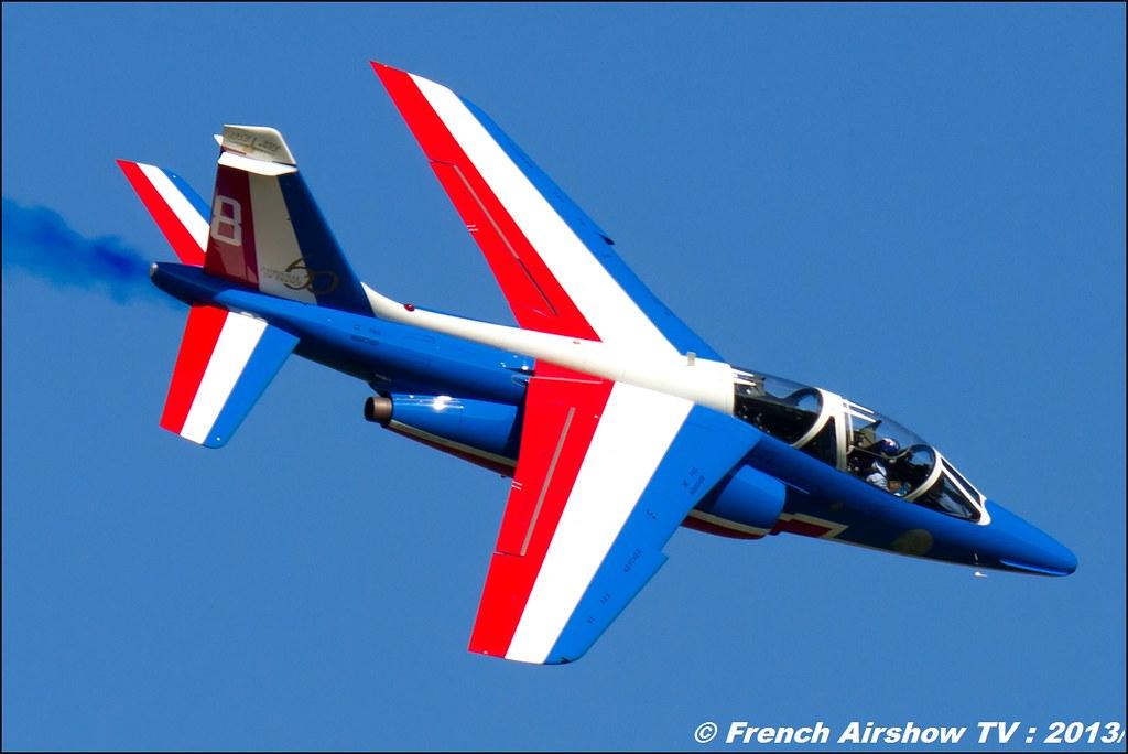Patrouille de France,60 ans Patrouille de France , Meeting Aerien 2013