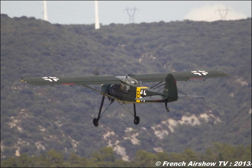 Samyang 800 mm / F 8.0 MC MIRROR Fieseler storch l'aérodrome de Pierrelatte.