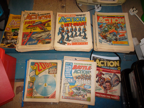 IPC Action Boys' Magazine 1976 to 1977 pre- and post-ban