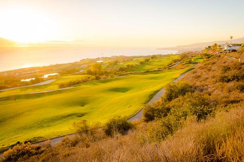 ocean california travel sunset seascape landscape coast pacific pch pacificocean golfcourse californiacoast palosverdes ranchopalosverdes