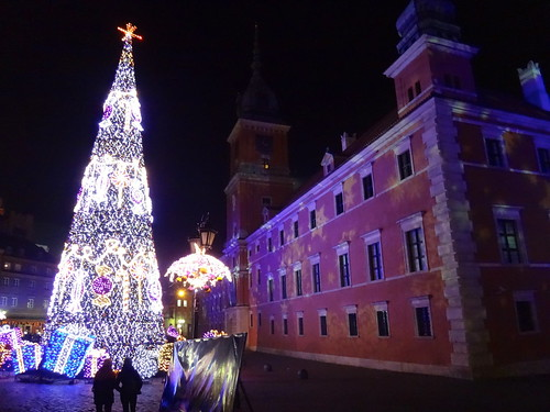 Christmas illumination. 2014 Old Town, Warsaw.