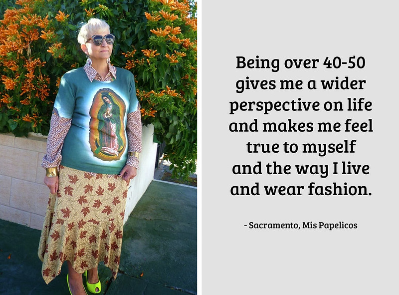 Sacramento, Mis Papelicos on being a 40+ fashion blogger