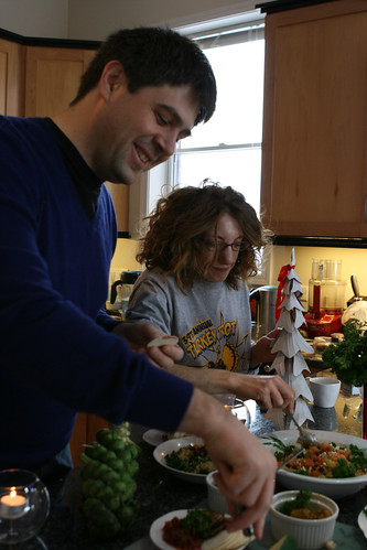 Matt & Abby revisit the NYE feast