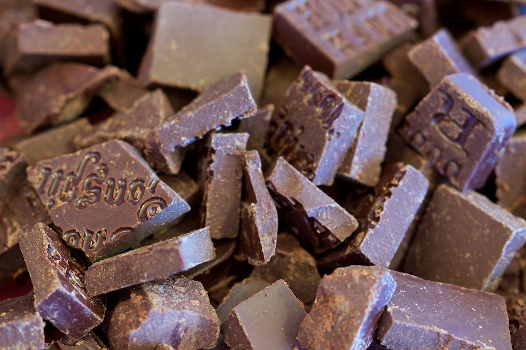 Raw Chocolate Samples