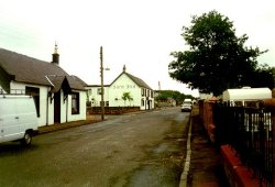 Sorn in Ayrshire, home village of the Brysons