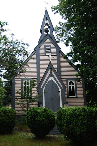 Church at Yale Museum in Historic Yale in the Fraser Canyon, British Columbia