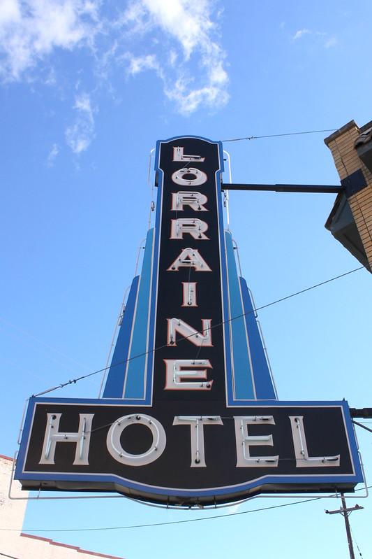 Lorraine Hotel Neon Sign