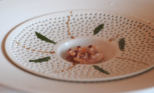 "Guy Savoy Singapore's Lobster ""Raw Cooked"" in Cold Steam"