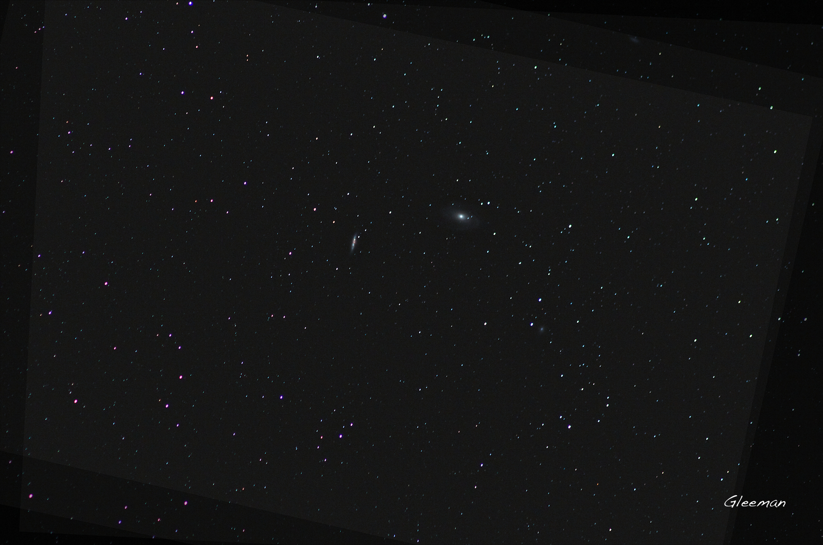 Supernova (SN 2014J) in M82 Pentax K5 + O-GPS1 + Tamron Adaptall-2 SP 300mm f/2.8 LD IF (60B) LPS-P2 filter